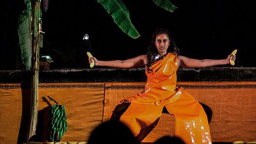 Isuru Perera. Venuri Perera performing Kesel Maduwa at Colomboscope Festival 2015