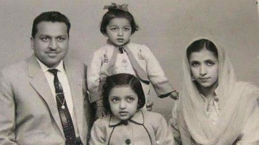 Family photo, courtesy Anjum Malik