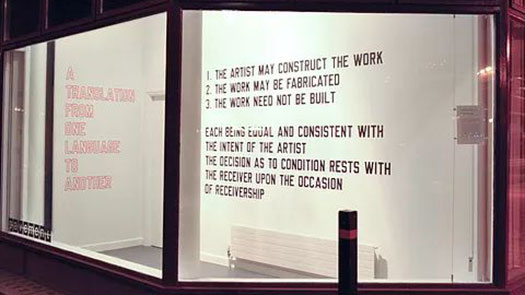 Lawrence Weiner: Works