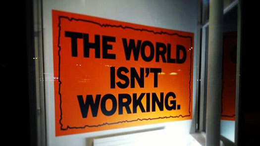 Mark Titchner: The World Isn't Working