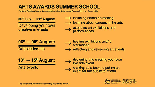 Arts Award Summer School