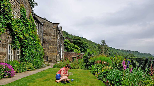 The Designer as Writer/The Writer as Designer at the Arvon Foundation, Lumb Bank, Heptonstall. Photography by Ralph Mills.